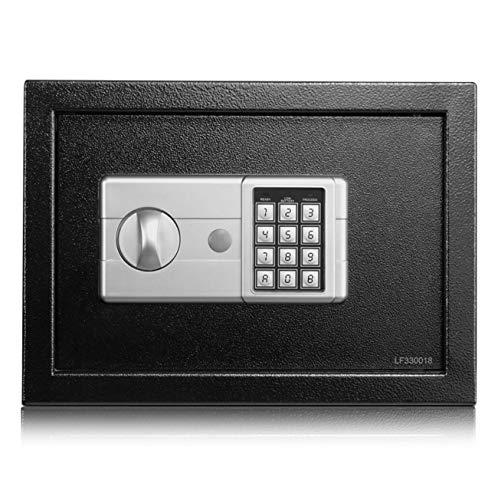 Nlne Schmuck Gold Digital Safe Fire Fire Elektronischer LCD-Passwort-Safe Zwei Öffnungsmethoden Lcd-digital-safe