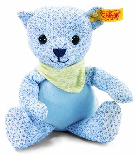 STEIFF 238116 - Teddybär Junge 20 cm, hellblau