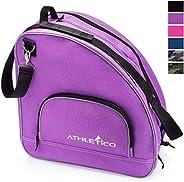 Athletico Ice & Inline Skate Bag - Premium Bag to Carry Ice Skates, Roller Skates, Inline Skates for Both
