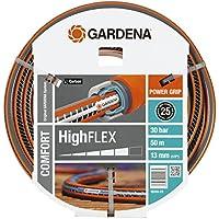 Gardena Comfort Highflex - Manguera (10 x 10, 13 mm, 1/2, 50 m, sin accesorios)
