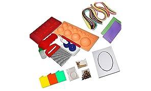 ProjectsforSchool Quilling Nation - 26 Pieces Quilling kit, DIY Art kit, Paper Craft kit
