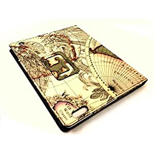 Excellent Style World Map Magnetic PU Leather Smart Stand Case Cover For iPad 2 3 4 by TB1 Products ®