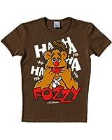 Muppets - Fozzie Bear T-Shirt, Dark Brown