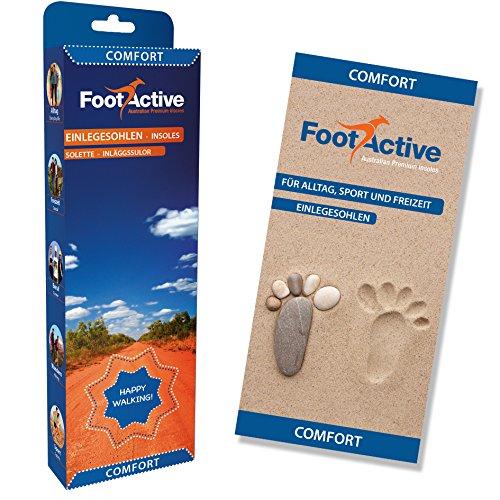 FootActive Comfort - Original Marken Einlegesohlen - Herrlicher Laufkomfort Für Füße, Beine und Rücken, Speziell Bei Fersensporn (44-46 L) - 4