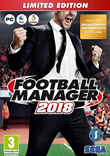 FOOTBALL MANAGER 2018 – Limited Edition