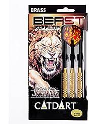 "Gato hipertensiva ""bestia"" punta de acero Dardos - Multi-color, 22 G"