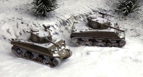 Italeri 510007521 - 1:72 M4A3 (Fast Assembly Kit) 2 Modelle, 76 mm