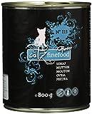 Catz finefood Katzenfutter Purrrr 113 Schaf, 6er Pack (6 x 800 g)