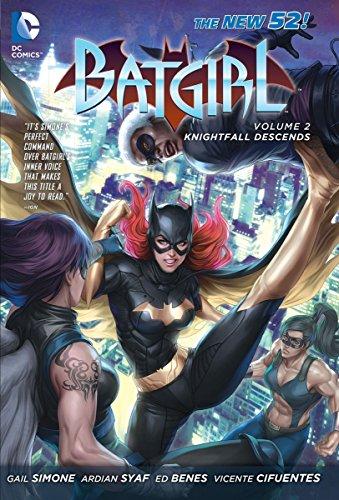Batgirl: Batgirl Volume 2: Knightfall Descends (The New 52) Knightfall Descends (the New 52) Volume 2 Cover Image