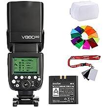 fomito Godox VING v860ii-c 2.4G TTL Flash de cámara batería de ión litio v860iic Speedlite para Canon 7d 60d 600d cámaras 580EX II EOS 600EX-RT