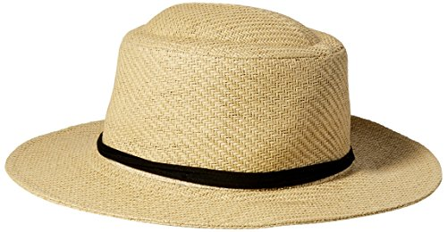 san-diego-hat-co-mens-fine-paper-weave-gambler-sun-natural-one-size