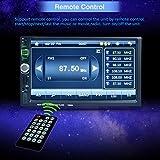 Swiftswan 7026 7 Zoll Touchscreen Auto Multimedia Player für Handy GPS Bluetooth (Farbe: Schwarz)