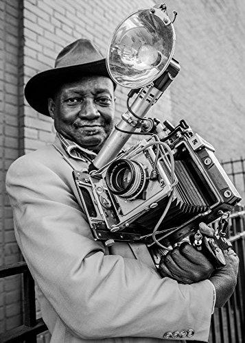 Kunstdruck/Poster: Hans ML Spiegel Mr.Louis Mendes/NYC-USA Street Photography Icon - hochwertiger Druck, Bild, Kunstposter, 40x55 cm