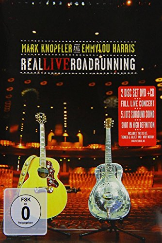 Mark Knopfler Emmylou Harris - Real Live Roadrunning [DVD+CD]