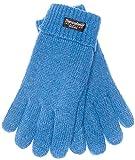 EEM Kinderhandschuhe MAX UND MORITZ mit Thinsulate Thermofutter, 100% Baumwolle; blau, Größe S