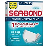 Sea-Bond upper denture adhesive wafers, original - 30 ea