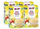 Hipp Bio-Getreide-Brei Guten-Morgen-Brei Bircher-Müesli, 4er Pack (4 x 250g)