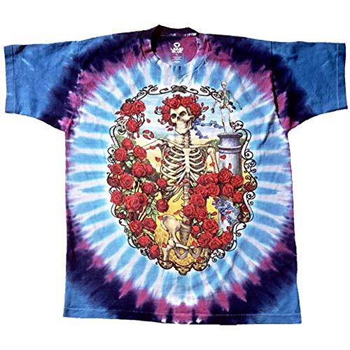 Liquid Blue Men's Grateful Dead 30th Anniversary Short Sleeve T-Shirt 18Months (Grateful Dead T-shirt Soft)