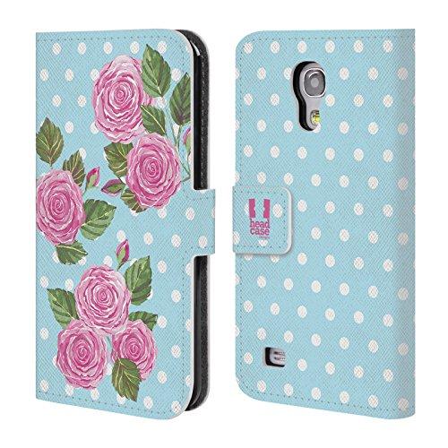 Head Case Designs Englischer Rosen Aquarell Und Blumen 2 Brieftasche Handyhülle aus Leder für...