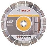 BOSCH Diamanttrennscheibe Expert für Universal, 230 x 22,23 x 2,4 x 12 mm, 2608602568