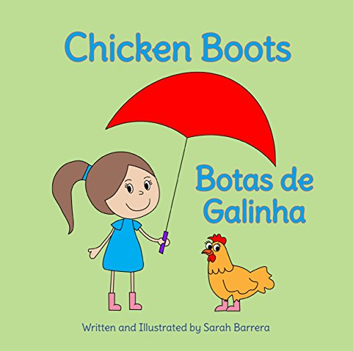 Chicken Boots: Portuguese & English Dual Text (Portuguese Edition)