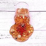 Slime Kit di Fango di Cristallo DIY-TianranRT★ Ocean Pearl Shell Puff Slime Putty Profumato Stress Clay Mud Toy,Forma animale da frutto Giocattoli educativi-Giallo(120ml)