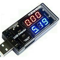 USB Detector Voltage Medidor de Voltaje Corriente USB 3V–9V