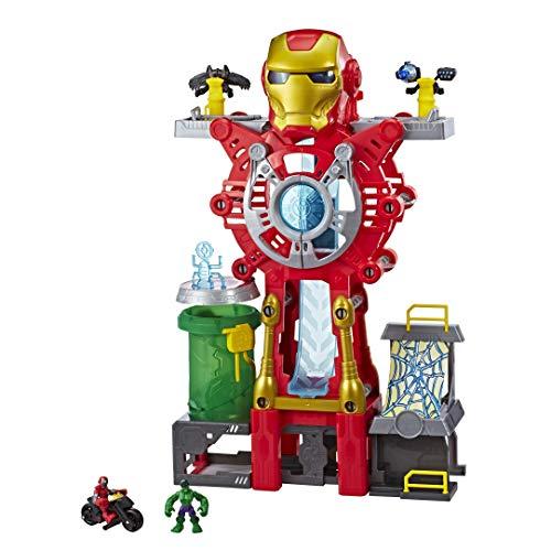 SUPER HERO ADVENTURES E0394EU5 SHA Iron Man Headquarters, Rosa