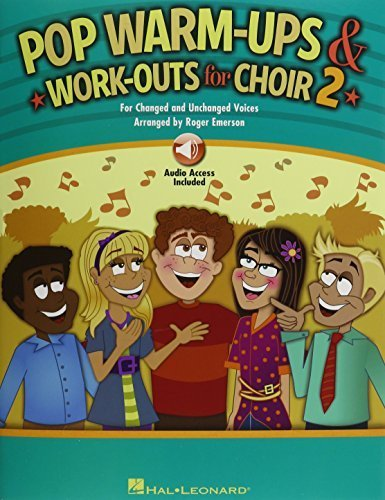 Roger Emerson: Volume 2: Pop Warm-Ups and Work-Outs for Choir (2016-02-15) - Ups Emerson