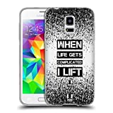 Head Case Designs Lift Fitness Motivation Soft Gel Hülle für Samsung Galaxy S5 Mini