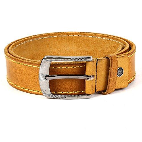 WildHorn Mens Tan Genuine Leather Belt 44