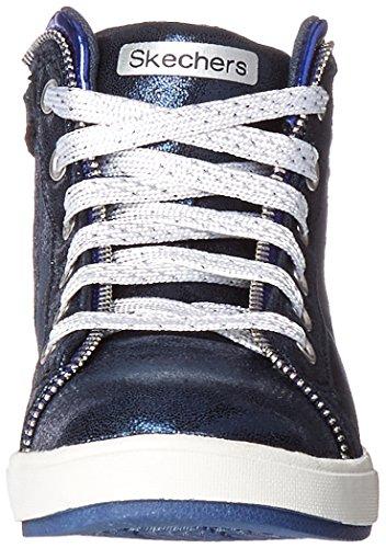 Skechers ShoutoutsZipsters Mädchen Sneakers Blau (Nvy)