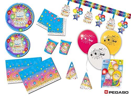 Pegaso Kit festa Happy Birthday