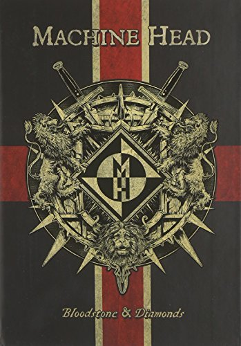 Bloodstone & Diamonds deluxe book by Machine Head (2014-08-03)