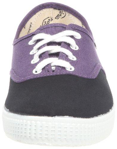 Victoria Inglesa Bicolor, Unisex-Erwachsene Hohe Sneakers Violett (Purpura)