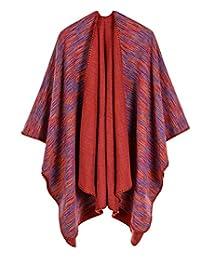 ldyy Scarf Femme Dégradé Cachemire Écharpe, La Mode Garder au Chaud Cape  réversible 2099076e6e5