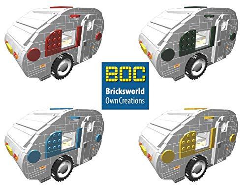 BOC-CV Digitale Bauanleitung für Lego Wohnwagen Type Ei