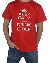 Keep Calm and Drink Cider T-Shirt by My Cup Of Tee