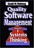 Quality Software Management: Systems Thinking v. 1