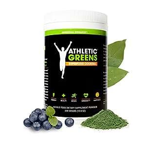 Athletic Greens Premium Superfood-Nahrung - Das Wirksamste Vollwert-Supplement - 30-Tages-Vorrat