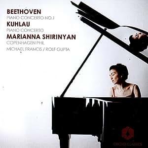 Beethoven/ Kuhlau: Piano Concerto No.1/ In C (Marianna Shirinyan/ Michael Francis/ Rolf Gupta) (Orchid Classics: ORC100025) by Marianna Shirinyan (2012) Audio CD