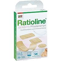 Ratioline sensitive Pflasterstrips in 4 Grössen 20 stk preisvergleich bei billige-tabletten.eu