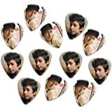 Bob Dylan Loose Double Sided Guitarra Púa Para Picks, Collection of 12