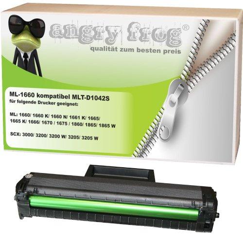 Preisvergleich Produktbild ML-1660 kompatibel für Samsung MLT-D 1042 S/ELS SCX-3200 SCX-3200 W SCX-3205 SCX-3205 W ML 1660 ML-1660 N ML-1665 ML-1666 ML-1670 ML-1675 ML-1860 ML-1865 ML-1865