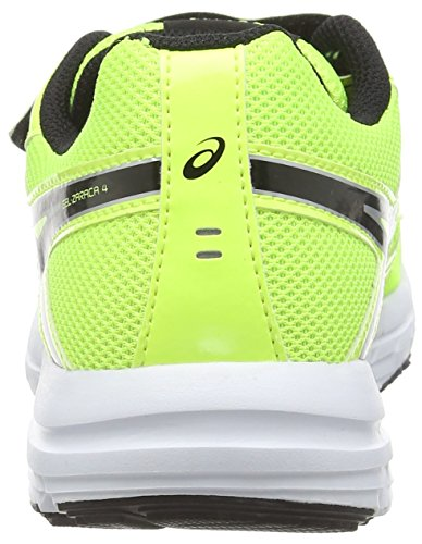 Asics Gel-zaraca 4 Ps, Unisex-Kinder Laufschuhe Gelb (flash Yellow/black/silver 0790)