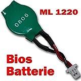 Bucom - ML1220 Battery BIOS Also for Asus EEE PC 1101HA 1005HA Battery Accu CMOS