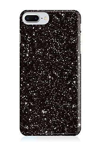 COVER Weltall Galaxie Muster schwarz Handy Hülle Case 3D-Druck Top-Qualität kratzfest Apple iPhone 6 6S