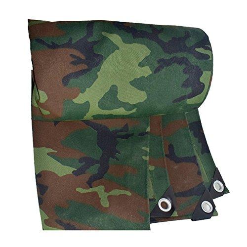 XUEYAN Épaissir la Feuille résistante de bâche de bâche de Camouflage imperméable de bâche camoufle la bâche imperméable de Tissu de Hangar (Taille : 4 * 8m)