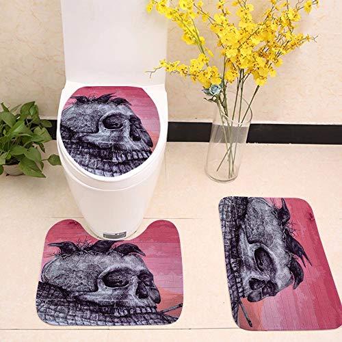 KYCD Black Velvet Badewanne WC DREI Stück Kunstdrucke Rutschfeste Matte, dd 1046-6,60 * 50 * 40 18 44 44 * * 35 - 1046 Teppich