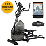 Die besten Ellipsentrainer - Skandika Crosstrainer Elliptical Carbon Pro Advance Ellipsentrainer, Schwungmasse Bewertungen